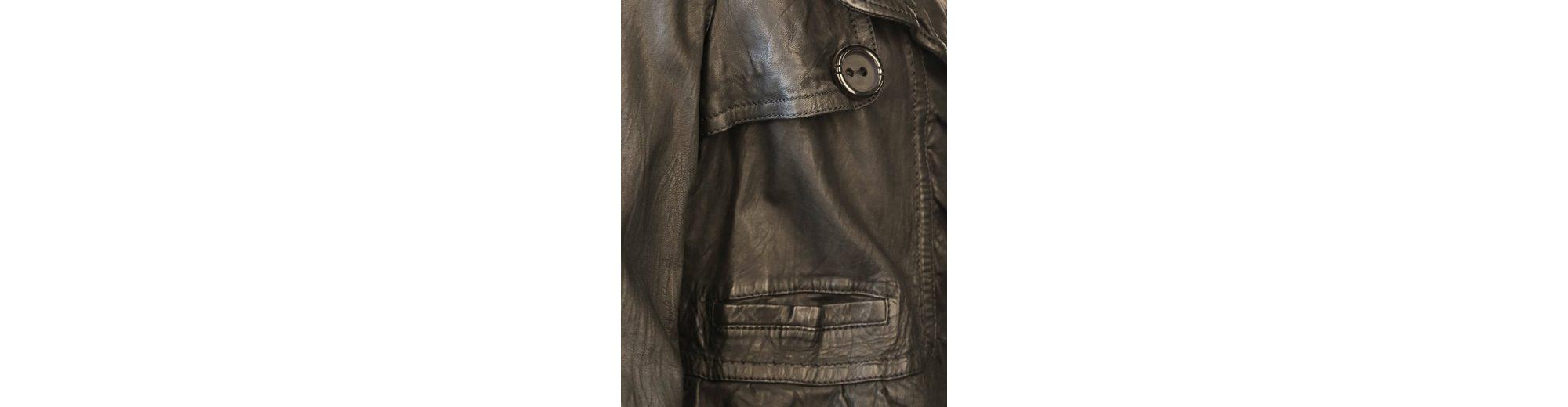 JCC Lederblazer mit schönem Hemdkragen 1012T Auslass Viele Arten Von Niedrigen Preis Versandkosten Für Günstigen Preis b99EFtLNxX
