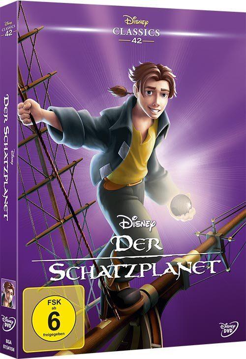 Disney DVD - Film »Der Schatzplanet (Disney Classics)«