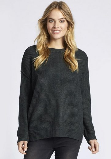 Khujo Crew-neck Sweater Lisanne, With External Seams