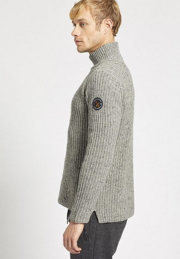 Khujo Knitted Sweaters Paris, With Zipper On Shoulder