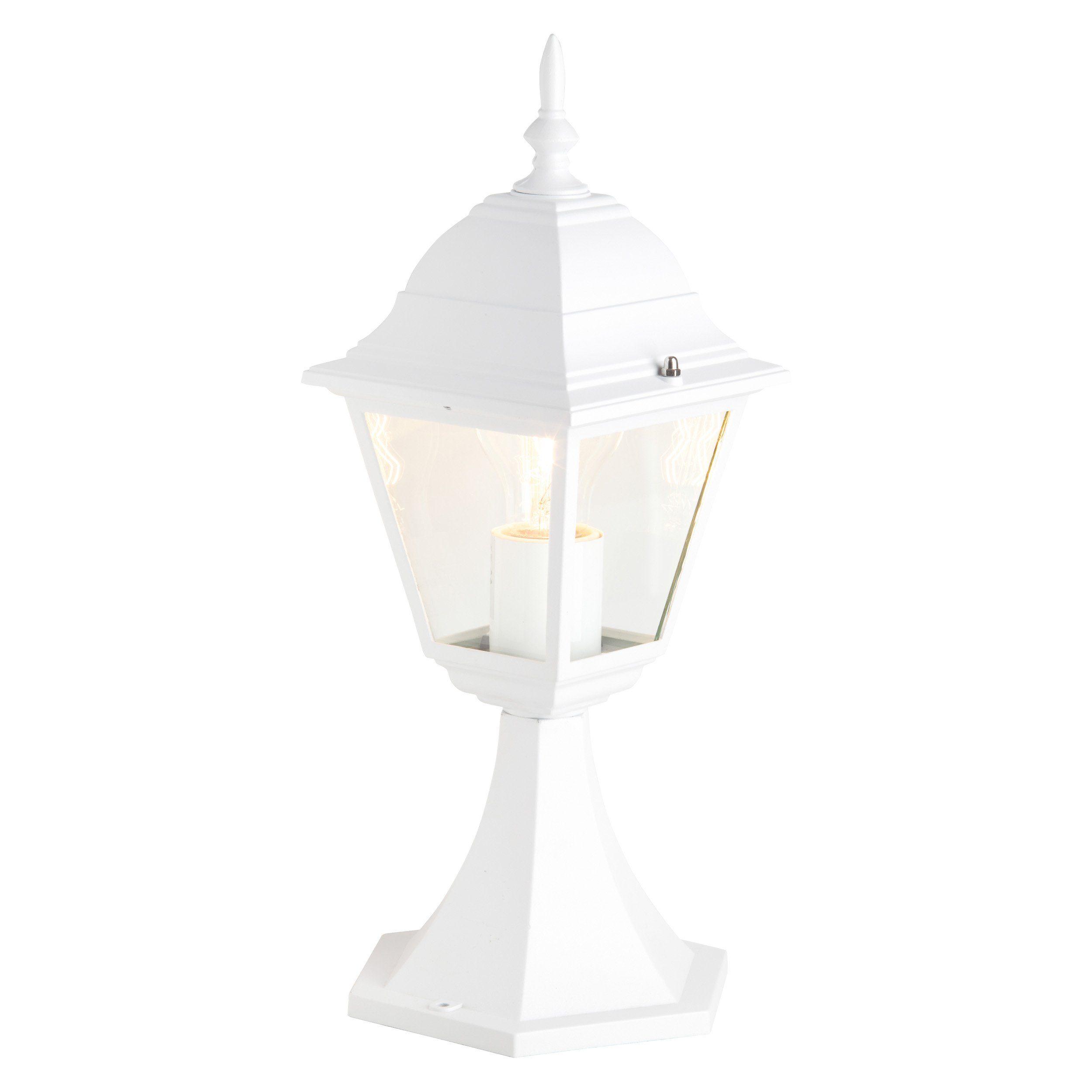 Brilliant Leuchten Newport Außensockelleuchte weiß IP23