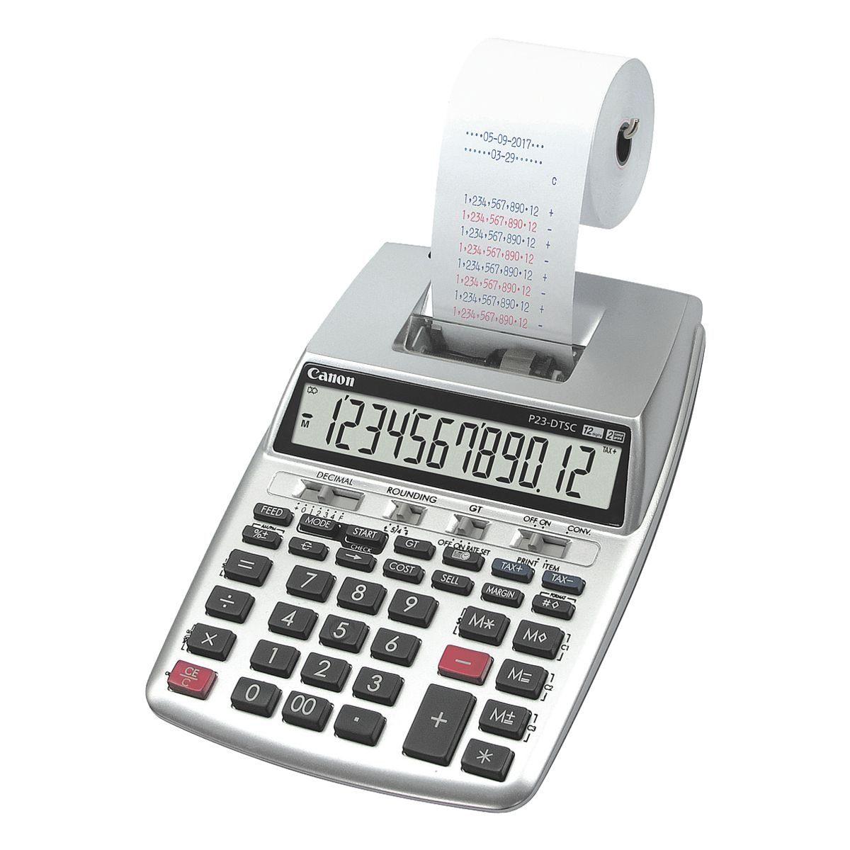 Canon Druckender Tischrechner »P23-DTSC II«