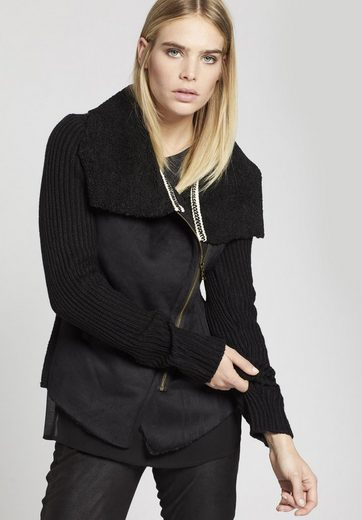 Khujo Sweater Norika, With Soft Faux Shearling