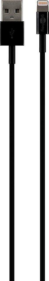 goobay USB Sync- & Ladekabel »für Geräte mit Apple Lightning Connector iPhone«