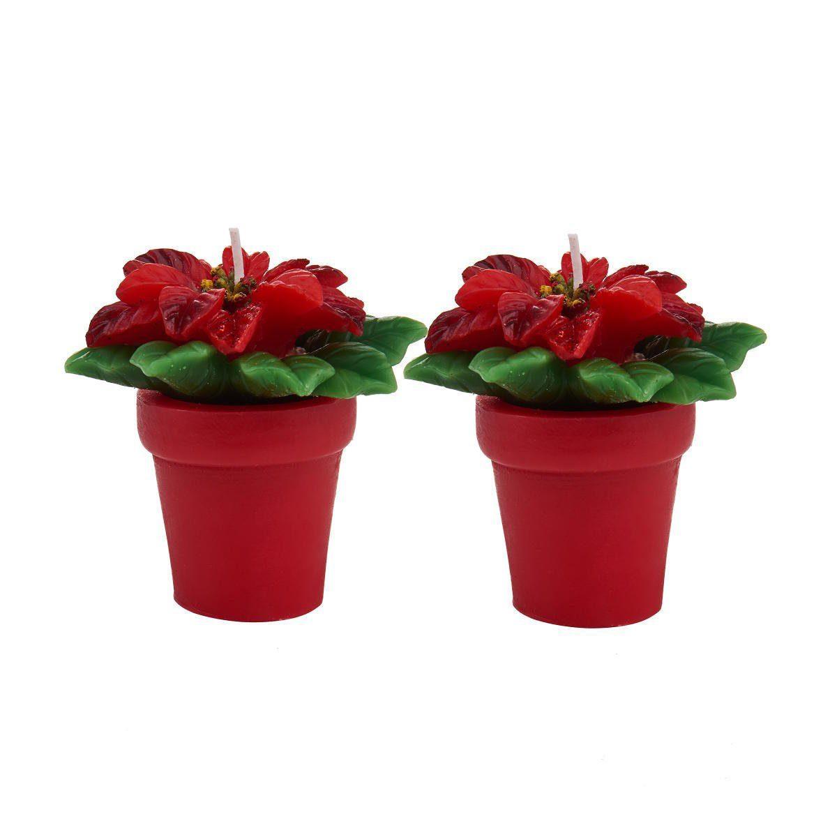 BUTLERS MERRY AND BRIGHT »Teelichter Weihnachtsstern 2er-Set«