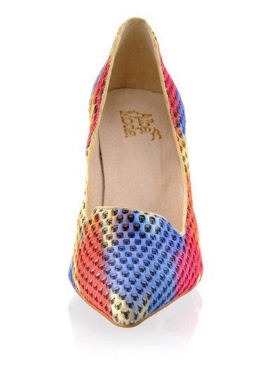 Alba Moda Pumps in Pop-Art-Farben