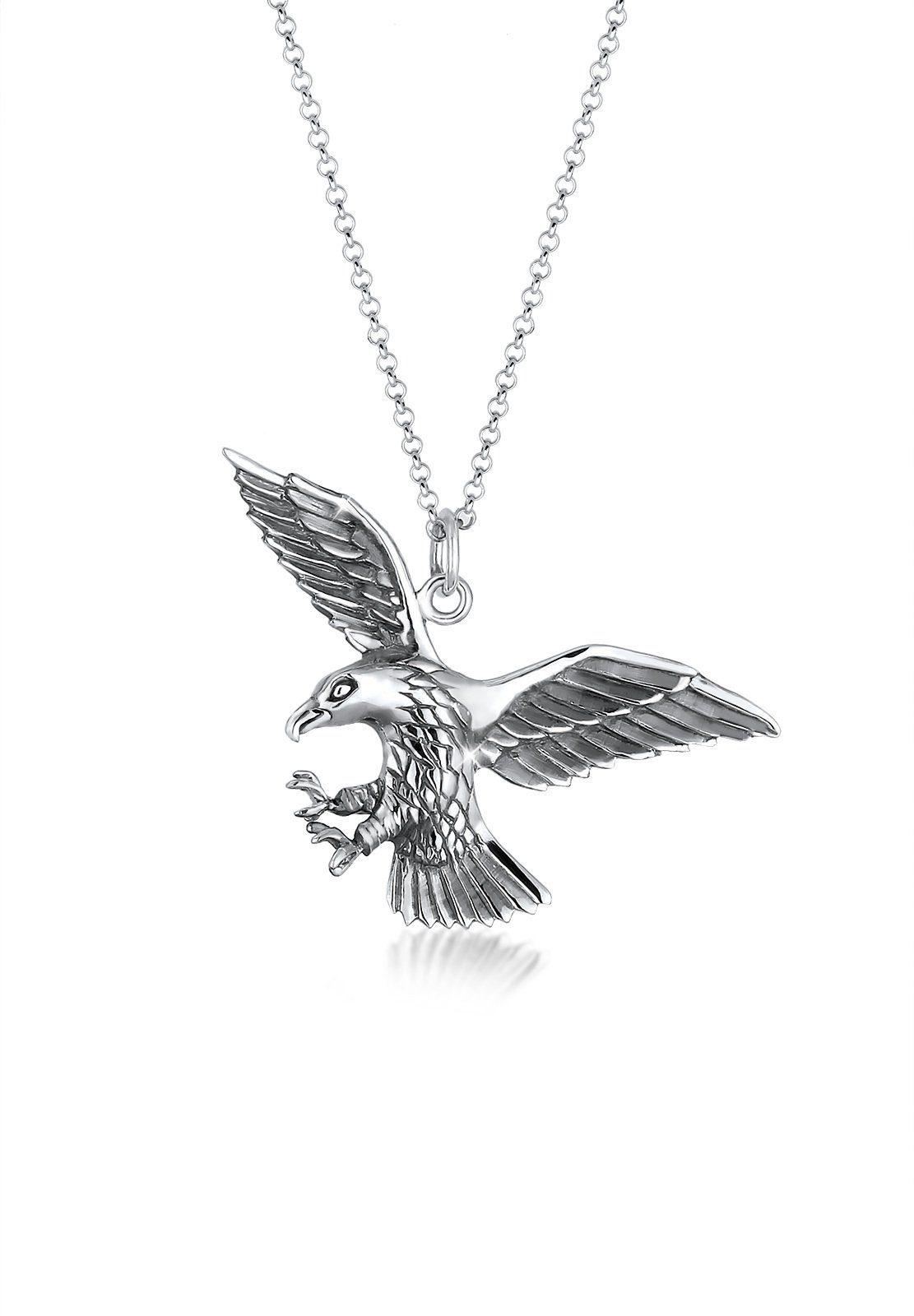 Paulo Fanello Halskette »Adler Greifvogel Cool 925 Sterling Silber«
