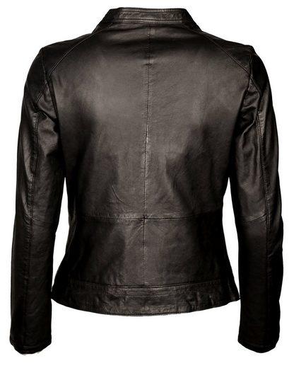 Tom Tailor Leather Jacket, Ladies 6071028