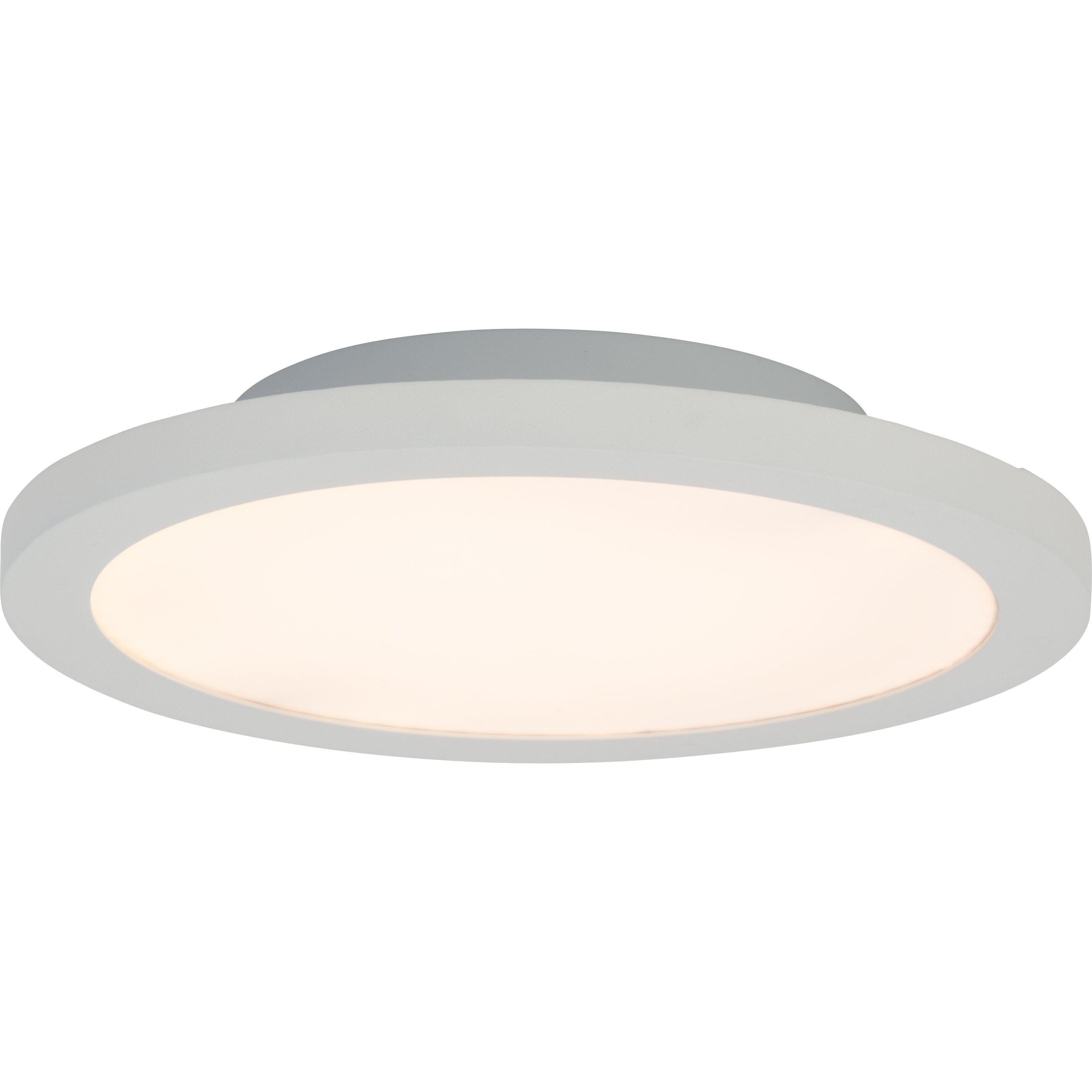 Brilliant Leuchten Smooth LED Deckenaufbau-Paneel 30cm weiß