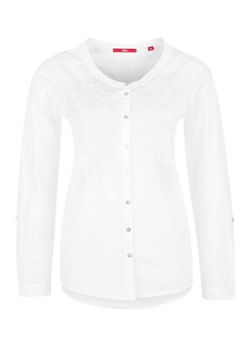 S.oliver Red Label Popeline-shirt With Embroidery