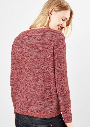 Q/S designed by Inside-Out-Pullover in Melange