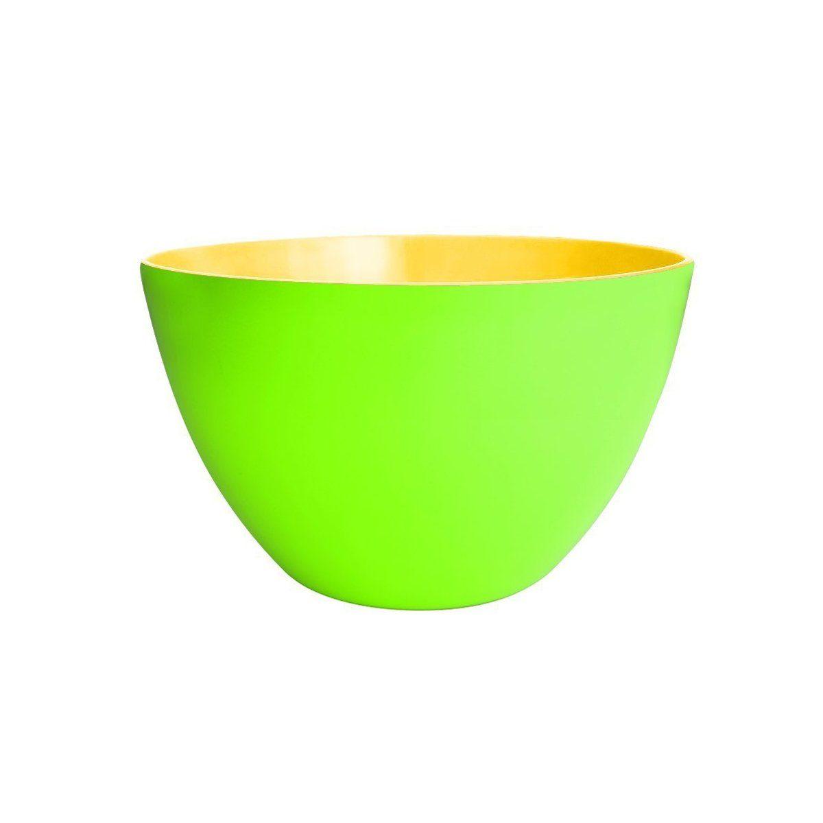 ZAK designs Zak designs Schüssel DUO 28 cm grün-gelb