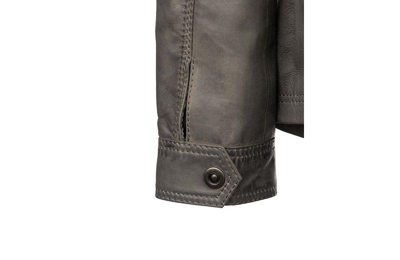 TOM TAILOR Lederjacke mit vielen Hightlights 918077 Freies Verschiffen Verkauf Online Holen Sie Sich Die Neueste Mode Großer Verkauf Günstig Online QmY8tbd