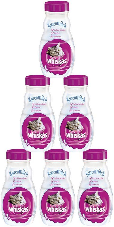 whiskas set katzensnack katzenmilch 6 flaschen 200 ml online kaufen otto. Black Bedroom Furniture Sets. Home Design Ideas