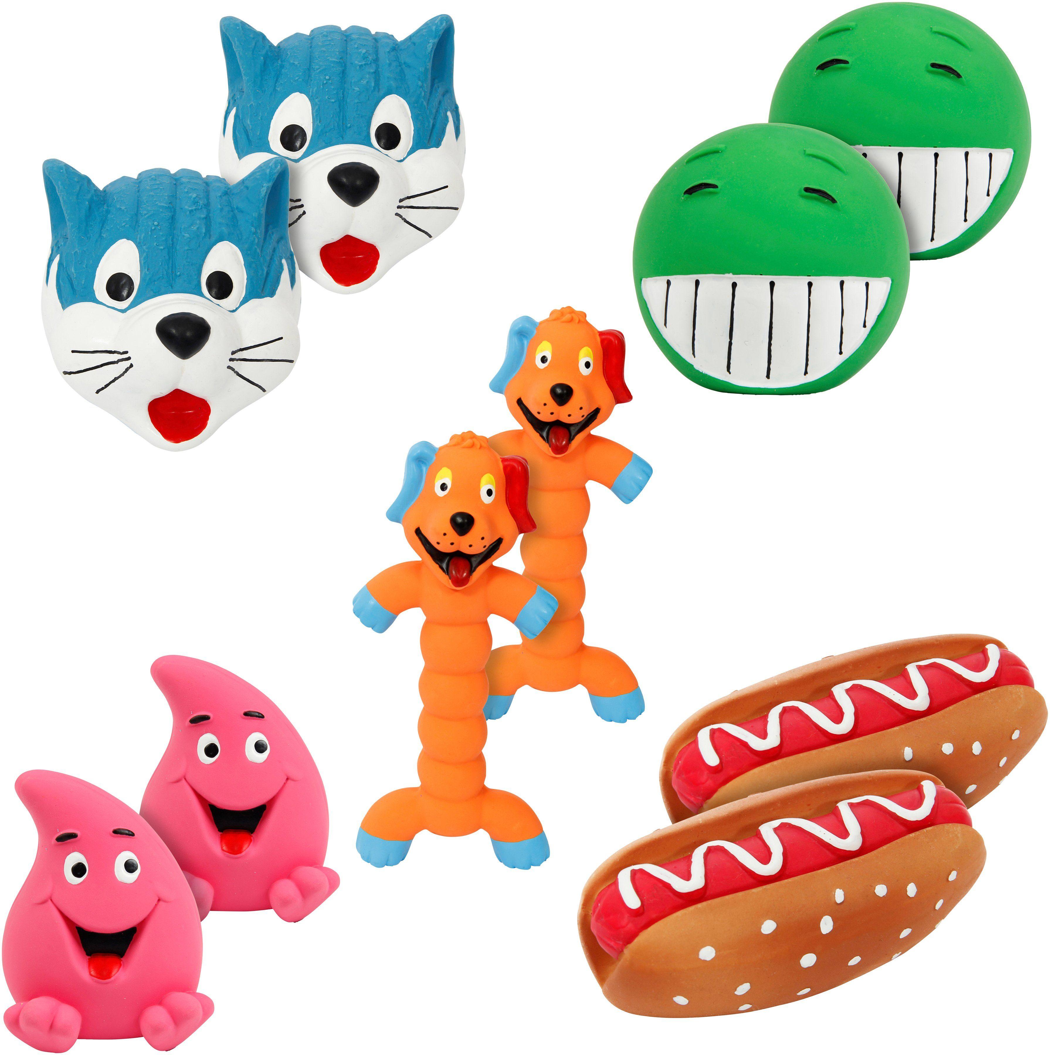 Heim 10-teiliges Hunde-Spielzeug-Set 5x2