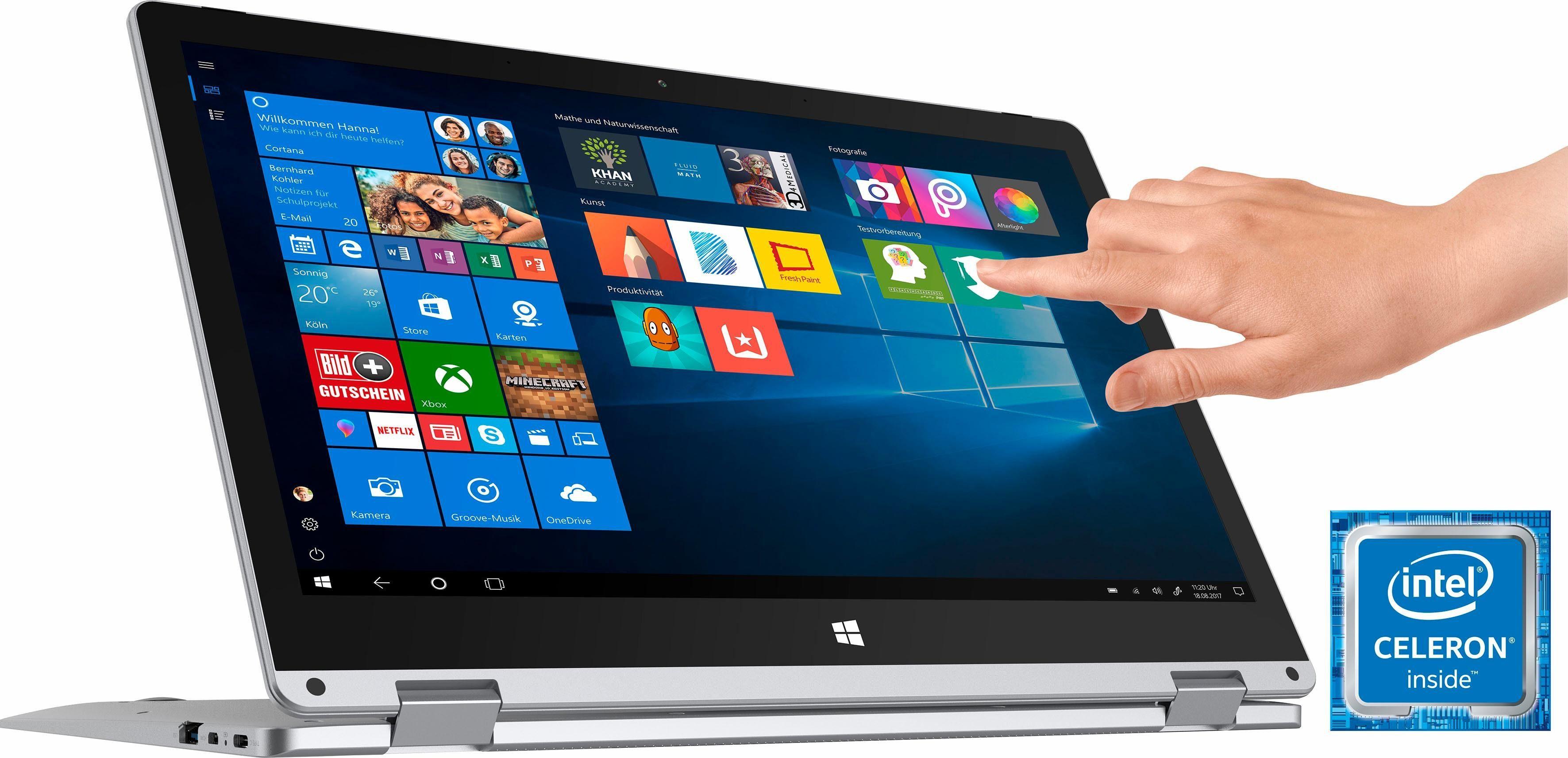 TREKSTOR Volks-Notebook PRIMEBOOK C13, WiFi , Intel® Celeron® N3350 Prozessor, 33,8 cm (13,3 Zoll), 64 GB interner Speicher