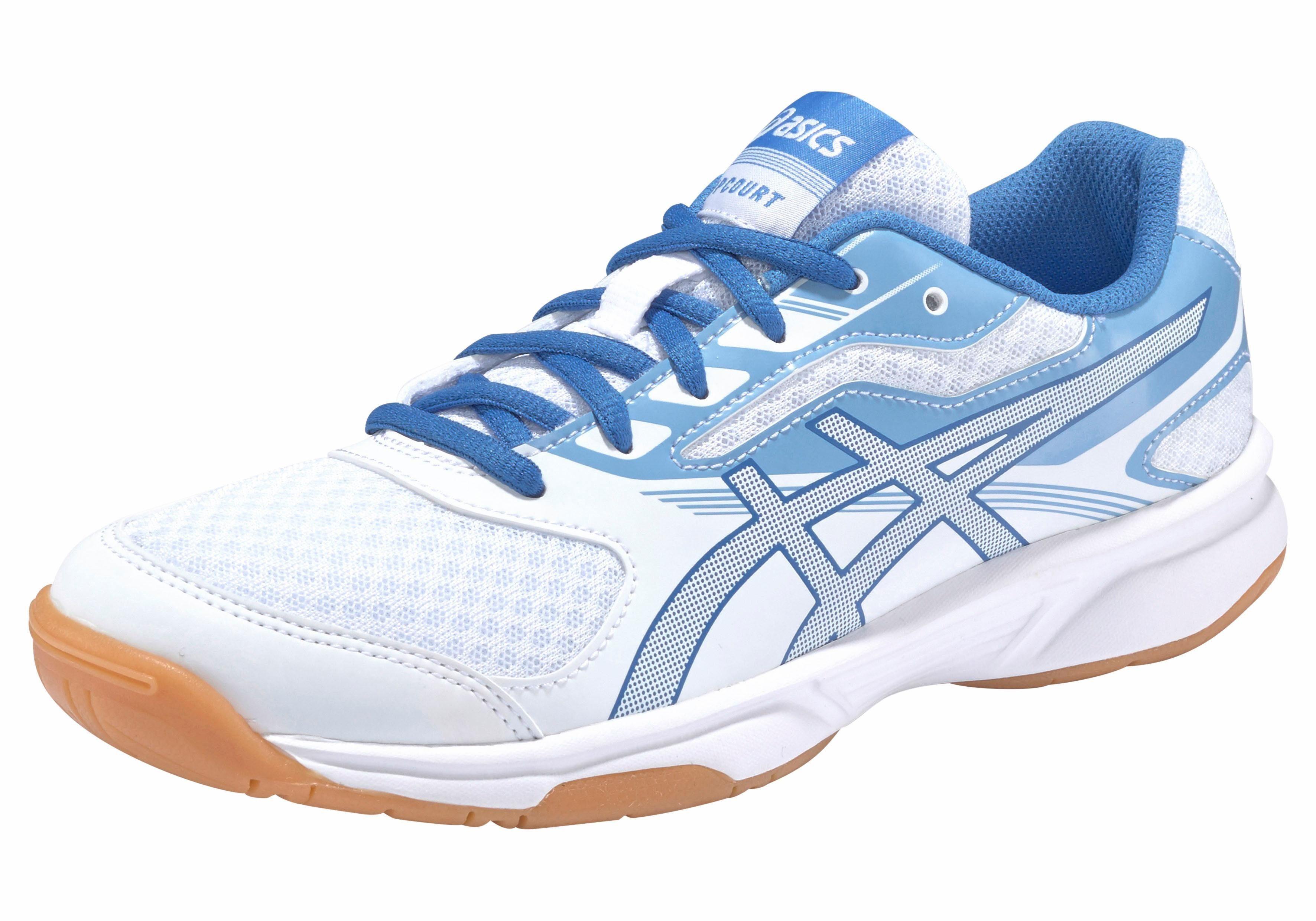 Asics UPCOURT 2 Trainingsschuh, Damen kaufen  weiß-blau