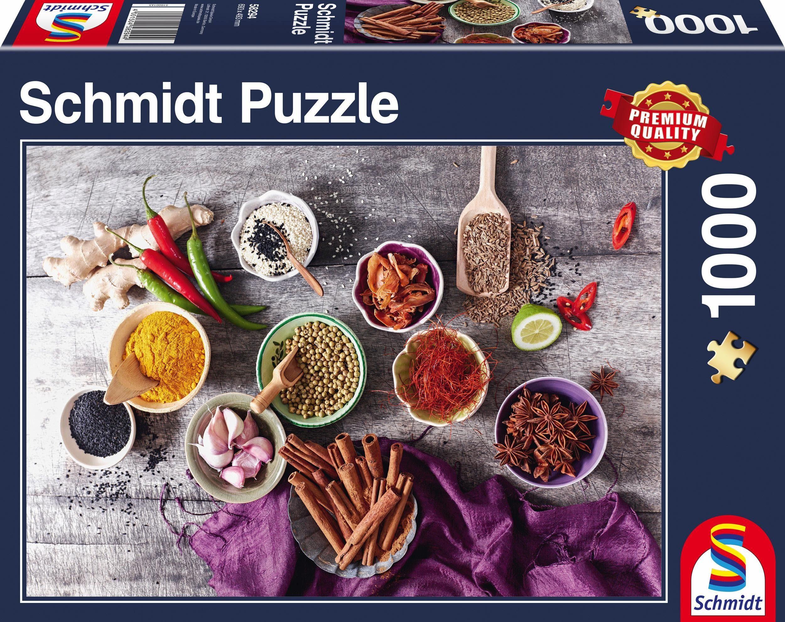 Schmidt Spiele Puzzle, »Gewürzkomposition, 1000 Teile«