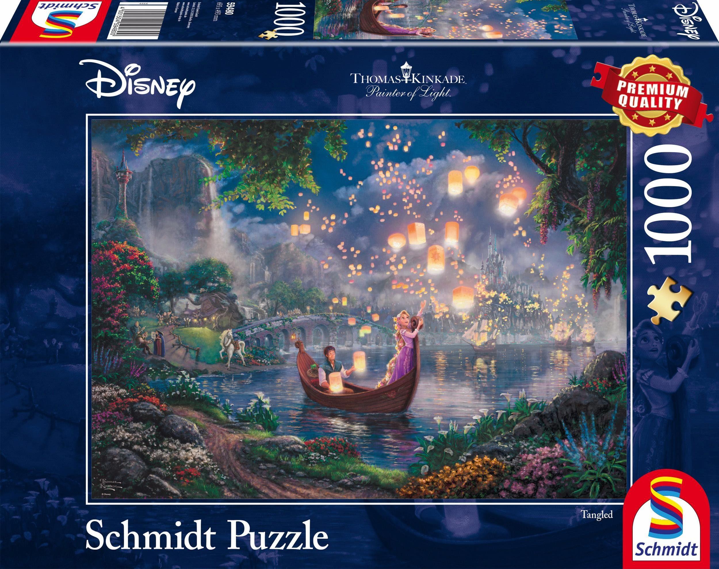 Schmidt Spiele Puzzle, »Disney Rapunzel, 1000 Teile«