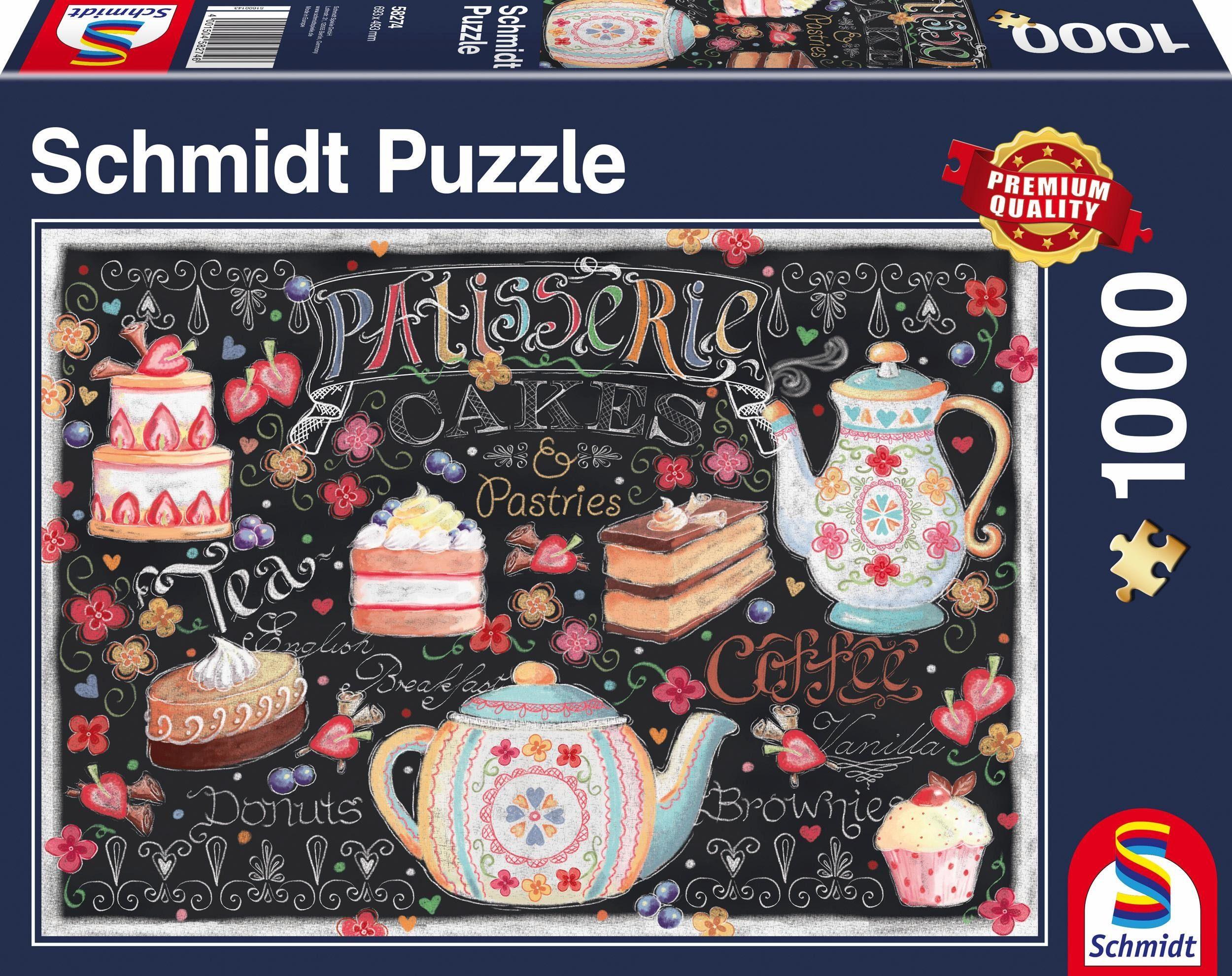 Schmidt Spiele Puzzle, »Pâtisserie, 1000 Teile«