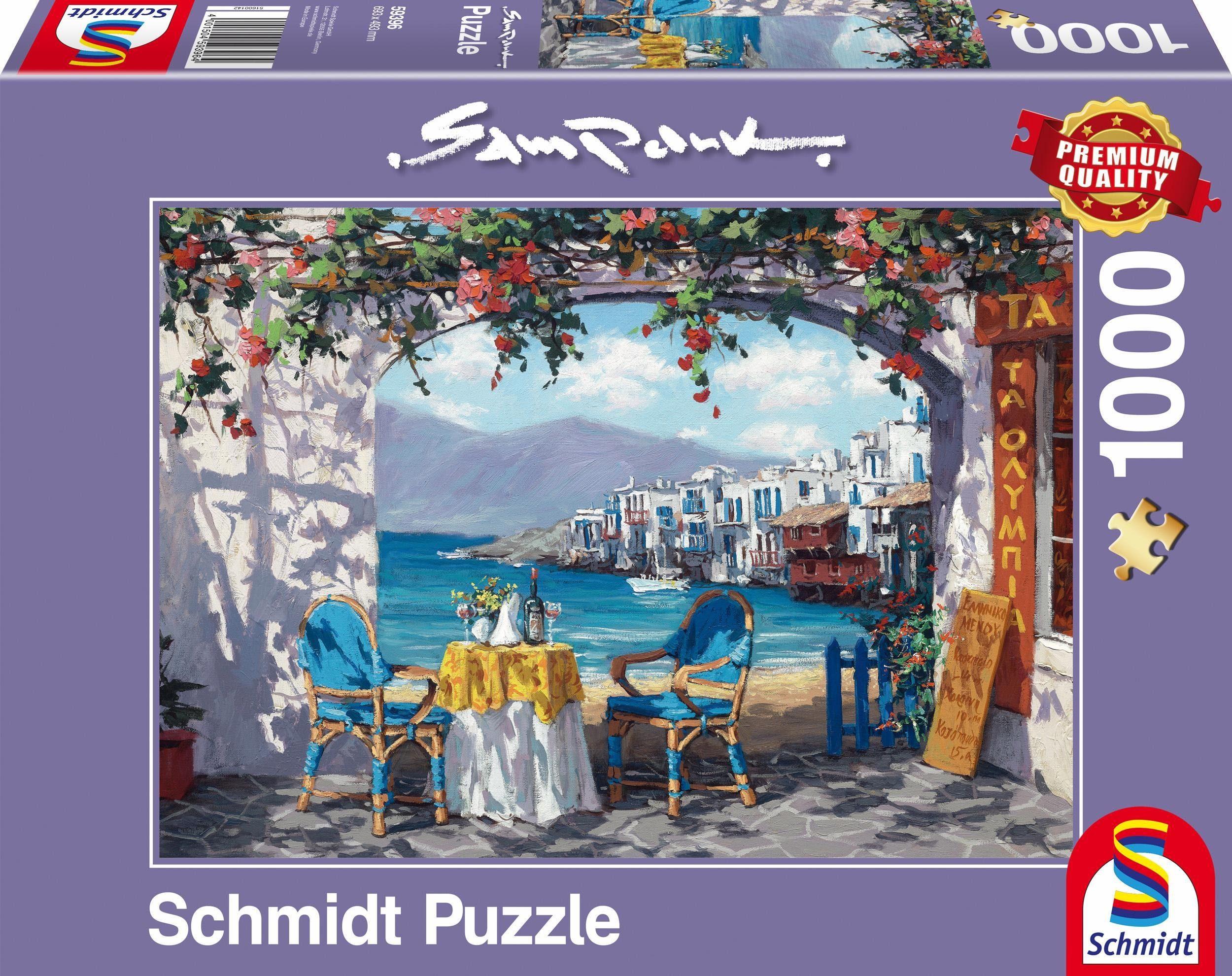 Schmidt Spiele Puzzle, »Rendezvous auf Mykonos, 1000 Teile«