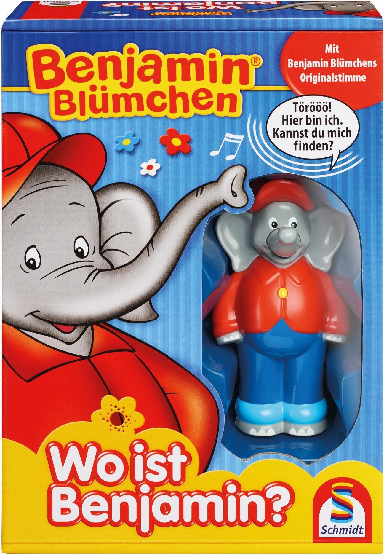 Schmidt Spiele Kinderspiel, »Benjamin Blümchen - Wo ist Benjamin?«