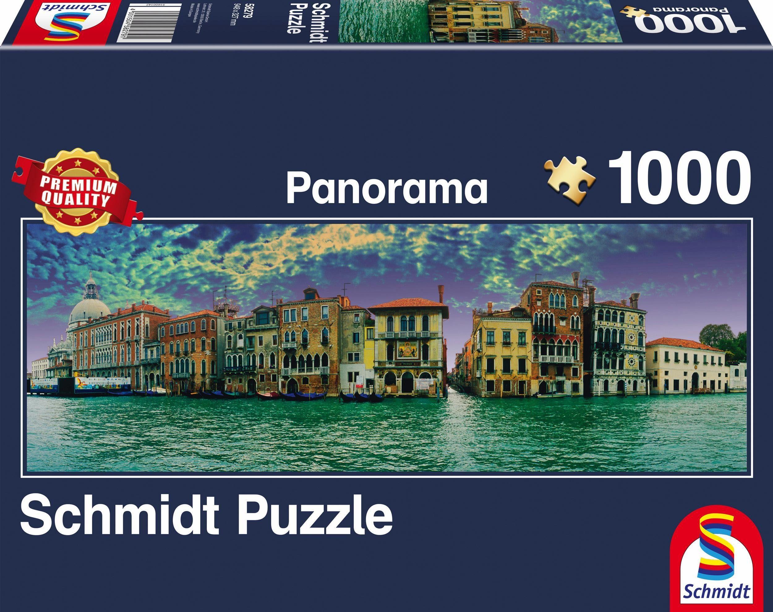 Schmidt Spiele Panoramapuzzle, »Blick auf Venedig, 1000 Teile«