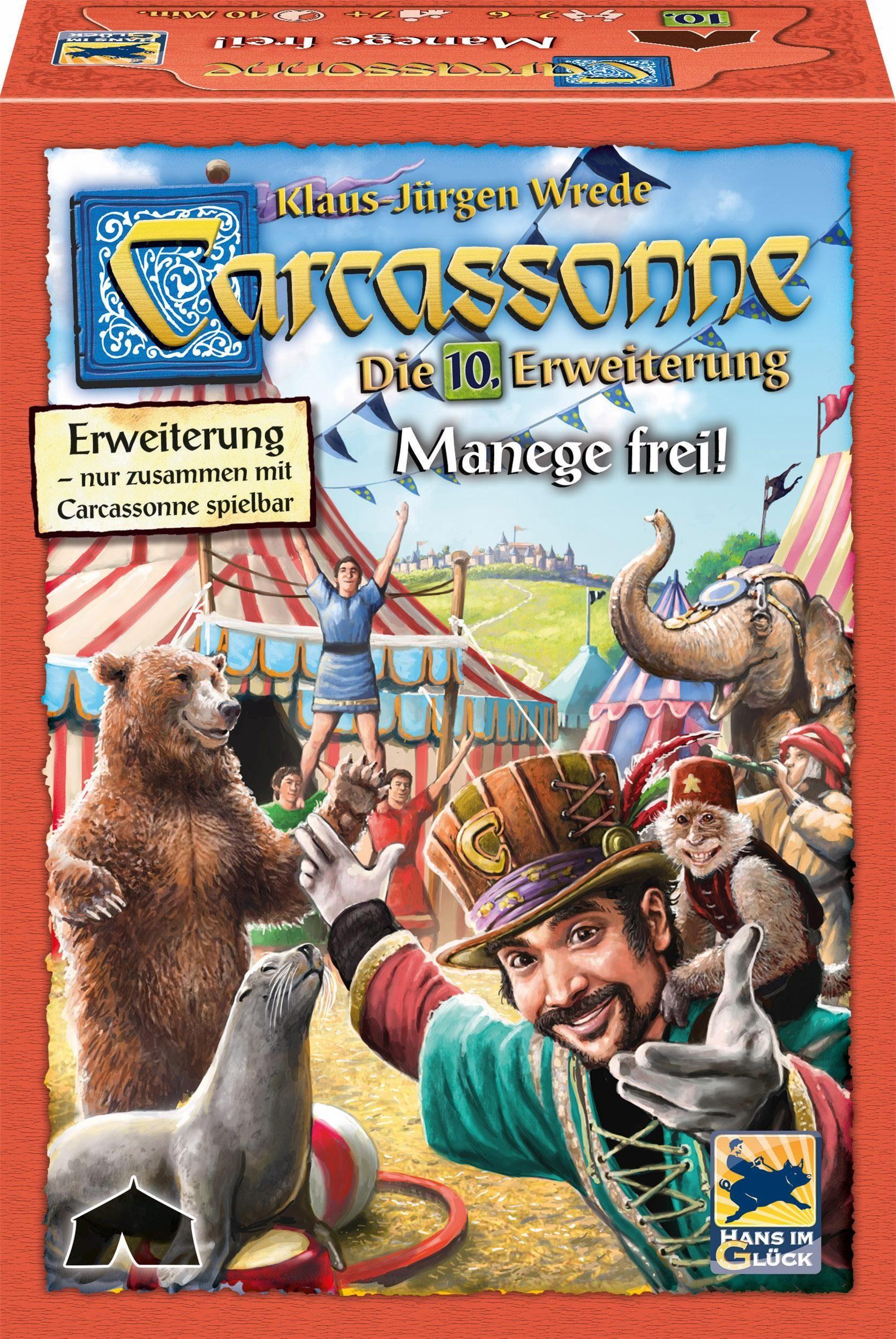 Hans im Glück Gesellschaftsspiel, »Carcassonne - 10. Erweiterung«