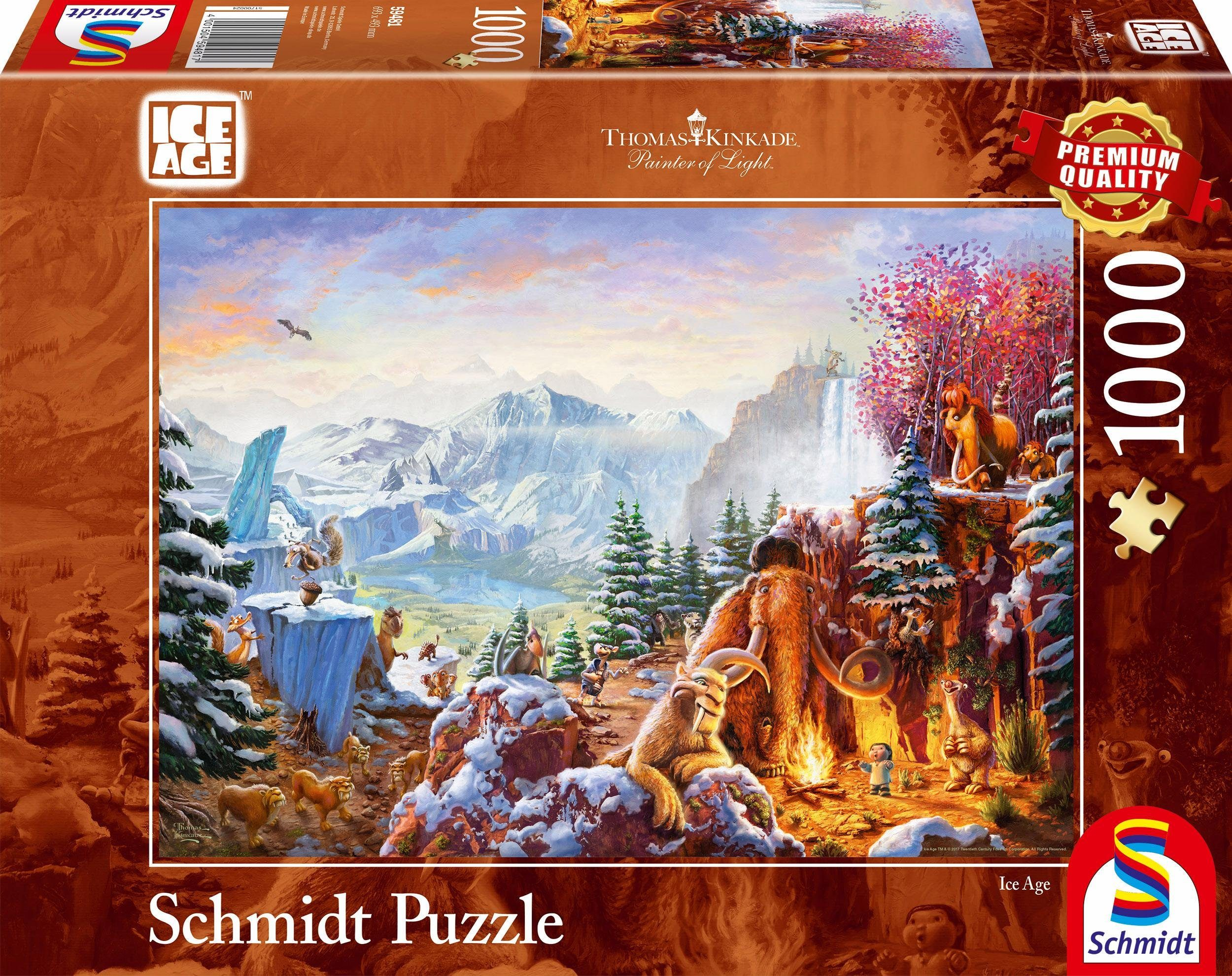Schmidt Spiele Puzzle, »Ice Age, 1000 Teile«