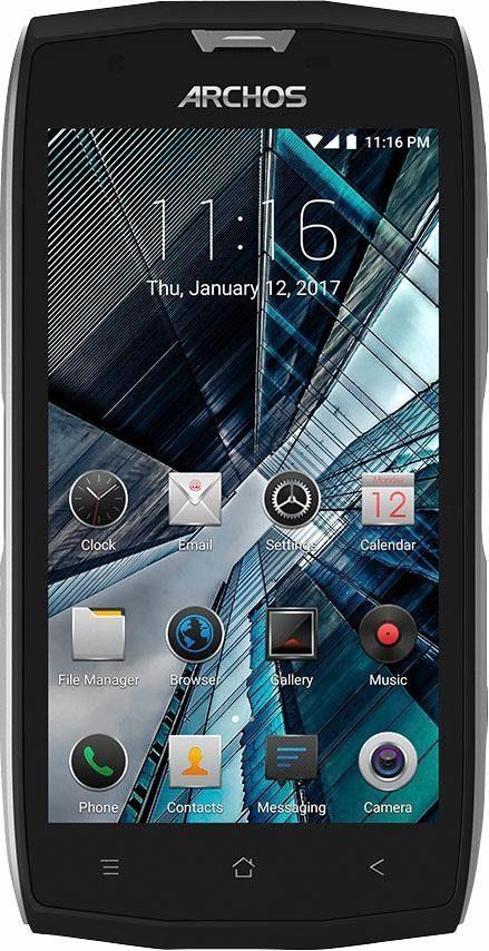 Archos Sense 50 X Smartphone (12,7 cm/5 Zoll, 32 GB Speicherplatz, 13 MP Kamera)