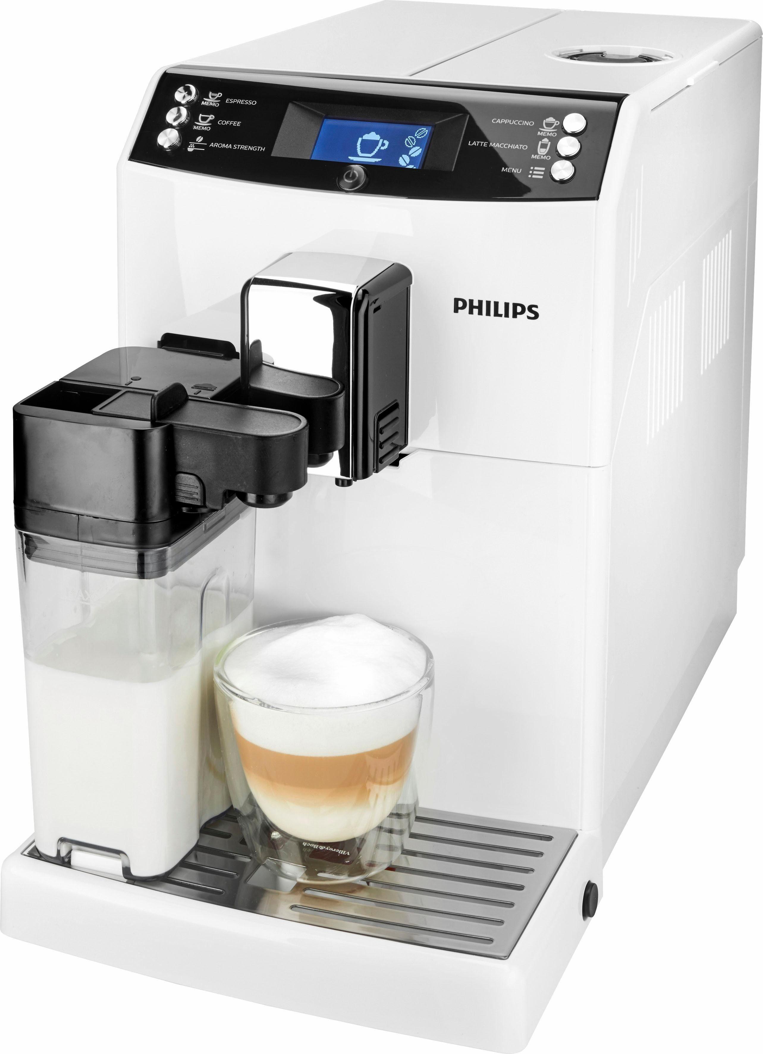 Philips Kaffeevollautomat EP3362/00, mit Scheibenmahlwerk