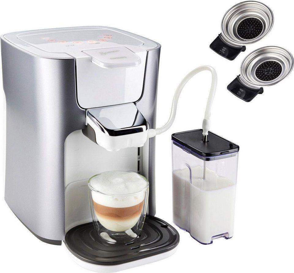 Senseo Kaffeepadmaschine HD6574/20 Latte Duo