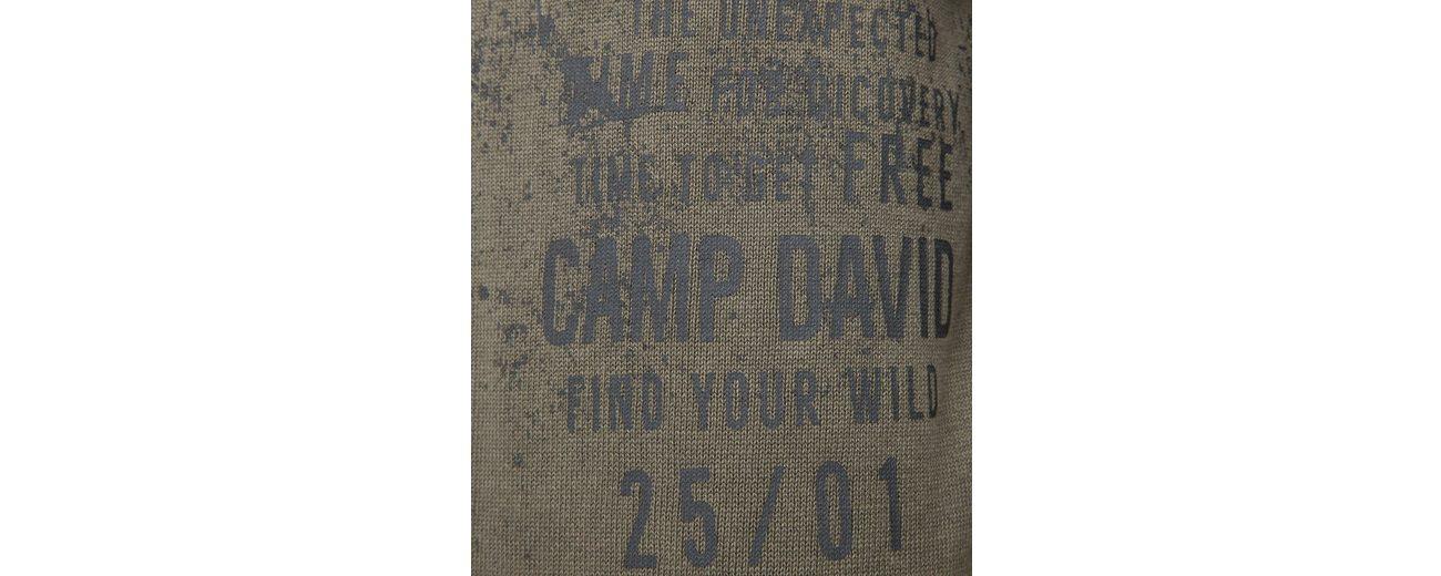 CAMP DAVID Rundhalspullover Mit Mastercard Online Auslass Empfehlen 0D8kU