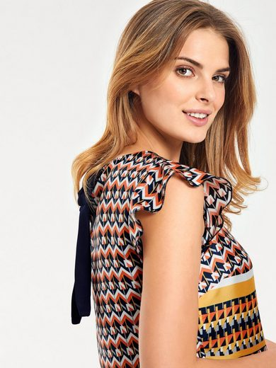 Bc Best Connections By Heine Print Blouse With Tie Belt