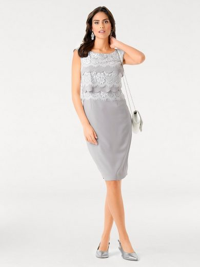 ASHLEY BROOKE by Heine Spitzenkleid mit Volants