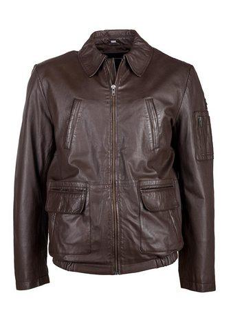 Куртка кожаная с verschließbaren...