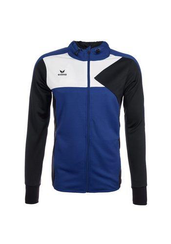 Herren,Kinder Erima Premium One Trainingsjacke mit Kapuze Kinder  | 04043523544985