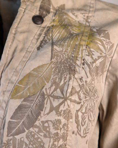 JCC Kurz-Textiljacke mit V-Ausschnitt Arizona