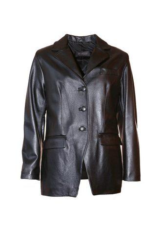 Пиджак кожаный для женсщин Glibu