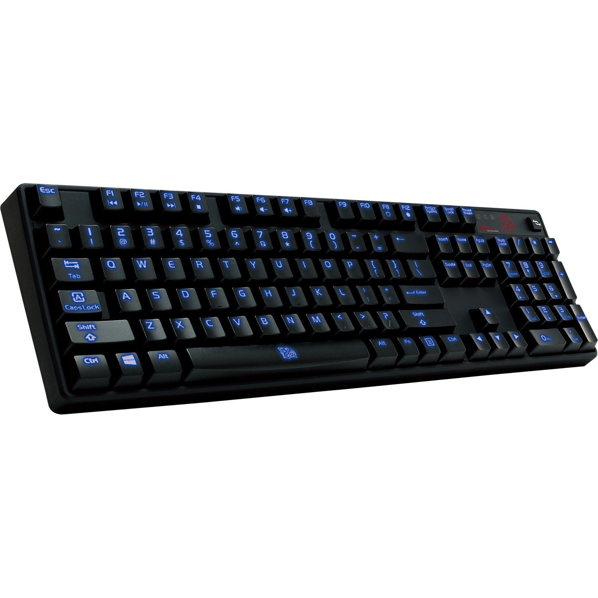Tt eSPORTS Tastatur »Poseidon Z Illuminated - Blue Switch Edition«