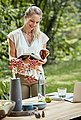 Musterring Gartentisch »Freilicht - Tisch: Holland«, Teak massiv gebürstet mit Baumkante, Aluminium Gestell, Länge 220 cm, Bild 6