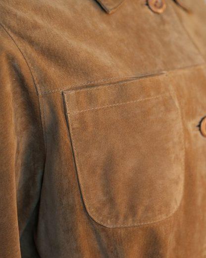 Manteau En Cuir Jcc Classique Porti