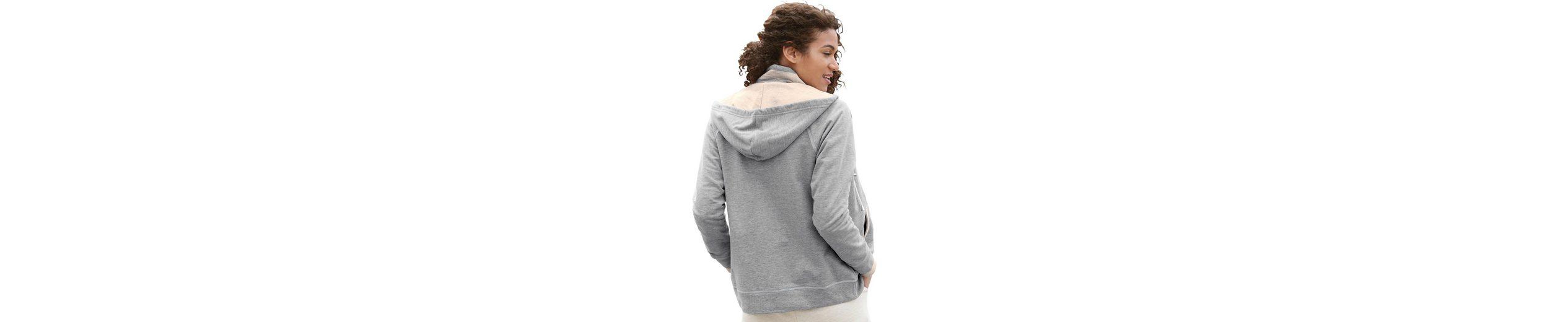Collection L. Shirtjacke mit Kapuze Niedriger Preis uovxrpJDUI