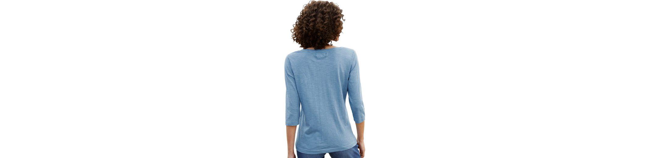 Collection L. Shirt mit 3/4-lange Ärmel Rabatte Spielraum Heißen Verkauf Preise Online-Verkauf Von Freiem Verschiffen Des Porzellans Rabatt Günstigsten Preis FhLLzNtN8u