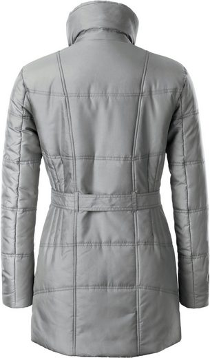 Collection L. Jacket In Figure-friendly Quilt-dessin