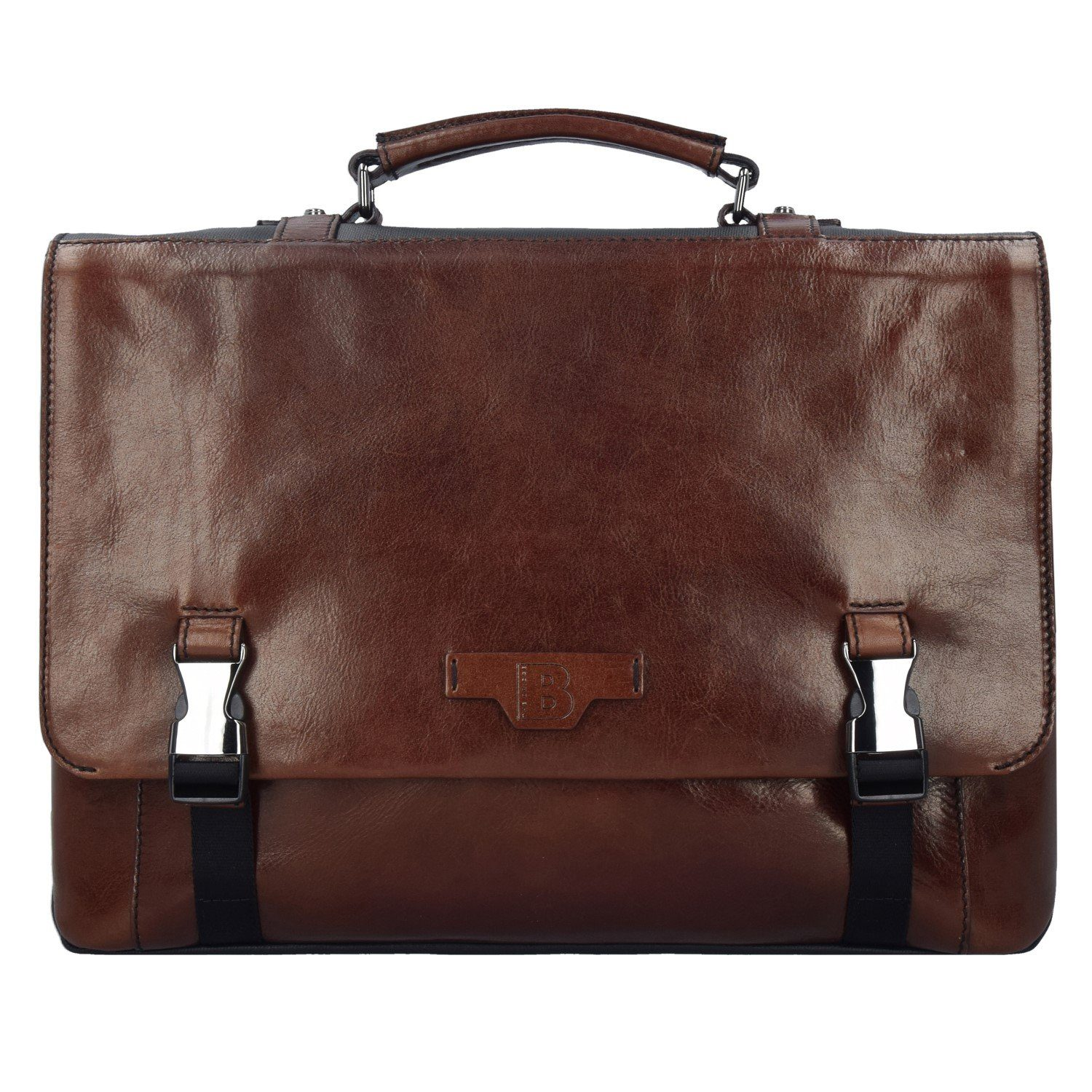 THE BRIDGE Hydro Messenger Tasche Leder 42 cm Laptopfach