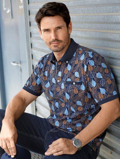 Babista Poloshirt mit Button-Down-Kragen