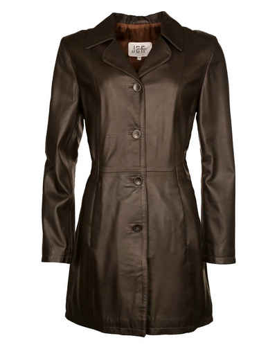 Кожаное пальто JCC