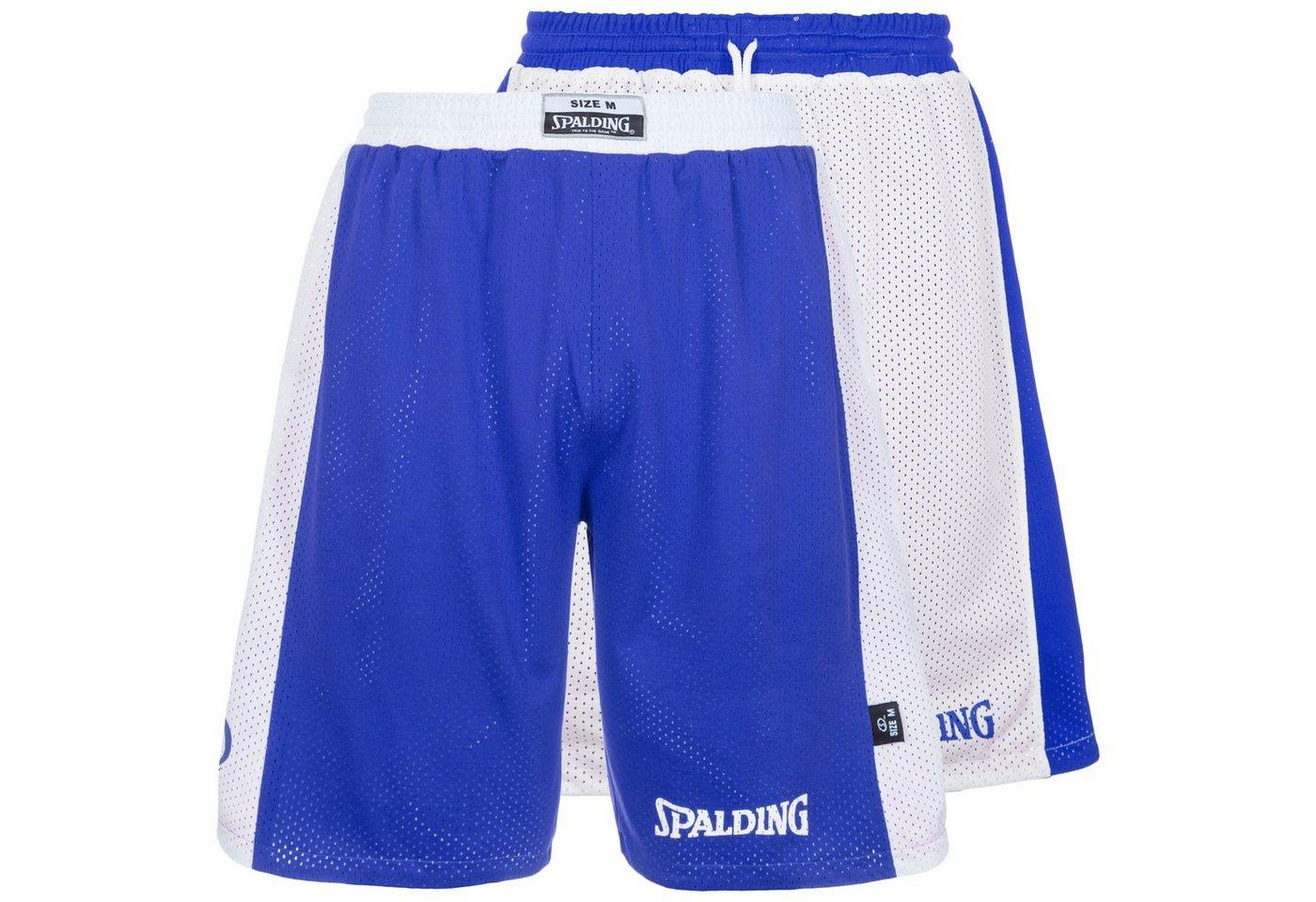 Spalding Essential Reversible Basketballshort Herren | Sportbekleidung > Sporthosen > Basketballshorts | Blau | Spalding