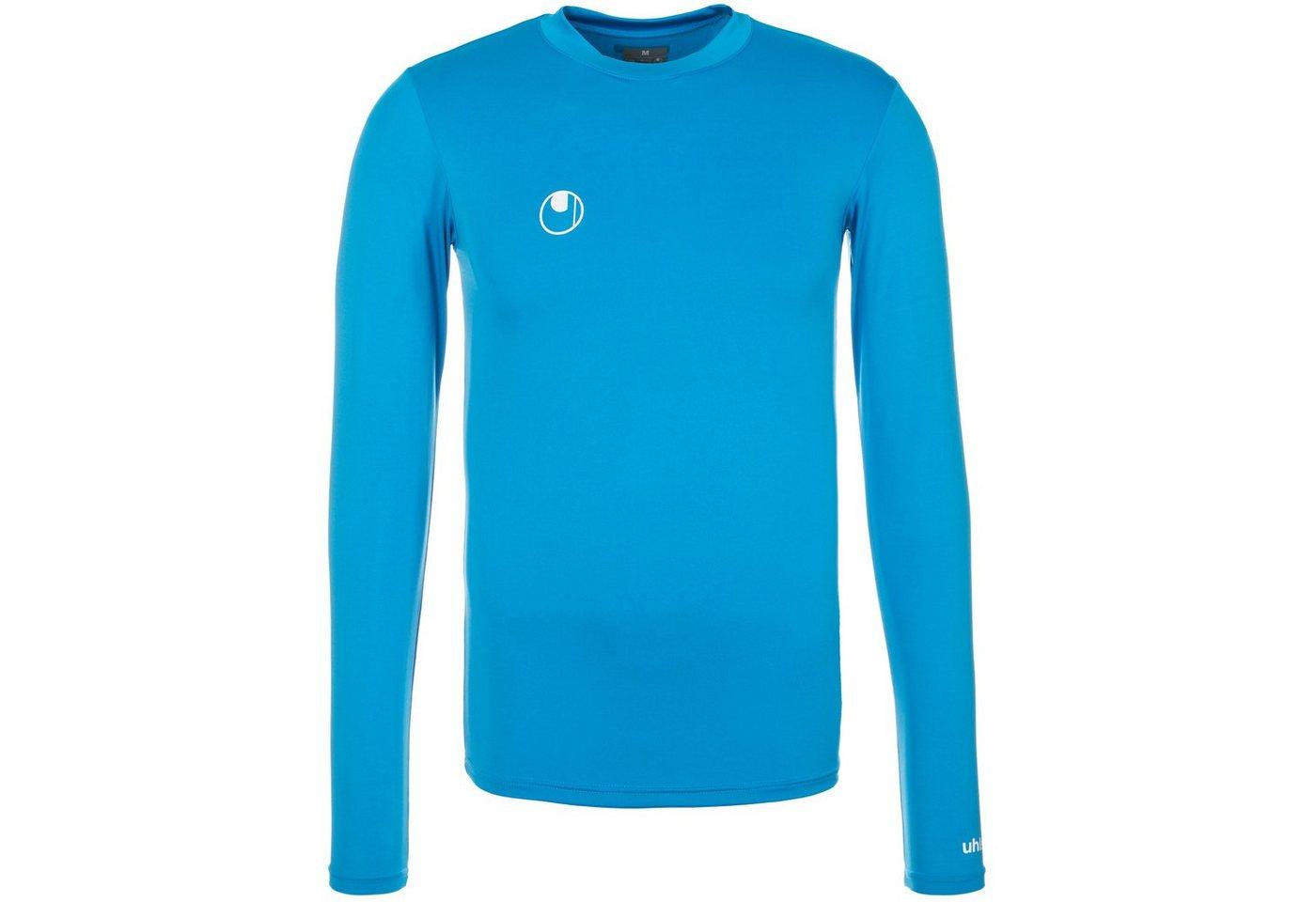 Uhlsport Funktionsshirt Langarm Herren | Sportbekleidung > Sportshirts > Funktionsshirts | Blau | Elasthan - Polyester | Uhlsport